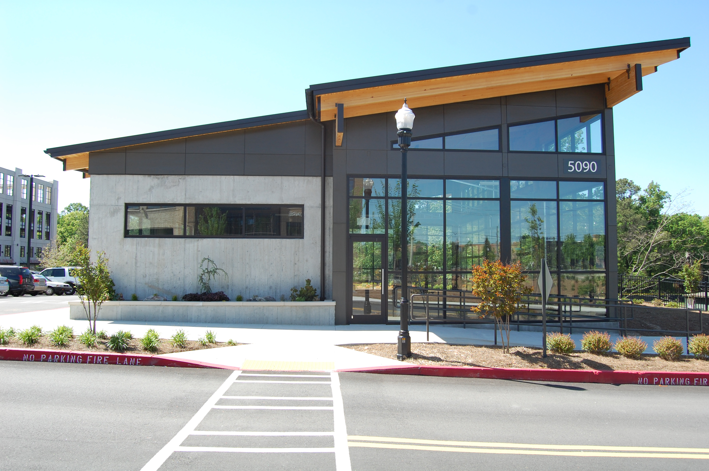 Modern Commercial Tenant Space Turning Heads